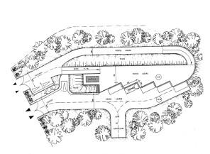 Plan de la dechetterie de Pontault-Combault