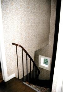 """Dernier niveau, la cage d'escalier """"condamnée"""""""