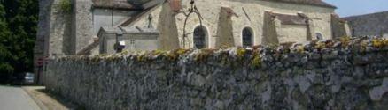 Le mur du cimetière