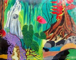 """Extrait """"Outremer"""" colorié par Hervé et Edelacy Brunel"""
