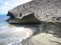 La grotte face au vent