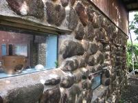 Les rochers du rez de chaussée