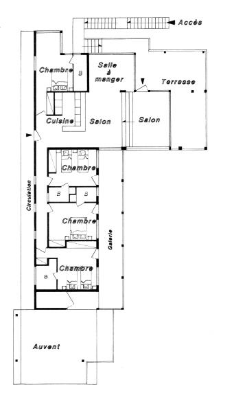 Plan du niveau principal